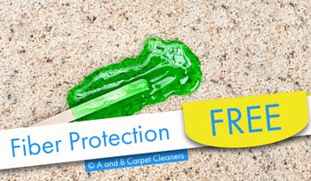 A and B Carpet Cleaners - Free Fiber Protection